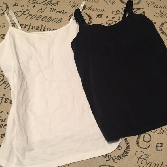 Motherhood Maternity Tops - Nursing tanks cami lot size large