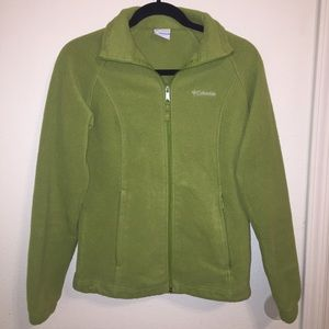 Women's Green Columbia Fleece Jacket on Poshmark