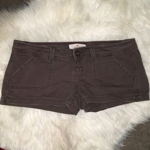 Hollister Pants - Brown mini shorts