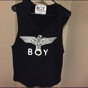 Boy London Other - Boy London sleeveless hoodie