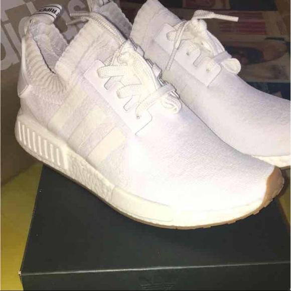 217fa7059f455d Adidas NMD pk triple white gum sole