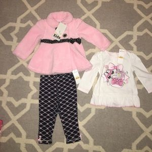 Kids Headquarters Other - 3 Piece- Pink Outfit - Kids Headquarters
