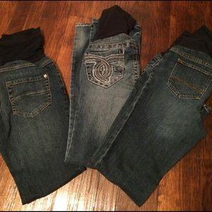 A Pea in the Pod Denim - 3 maternity jeans