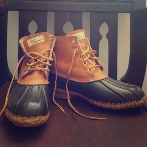 Other - Vintage Land Rover Duck Boots