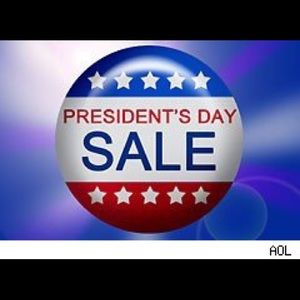 Other - Presidents' Day sale.