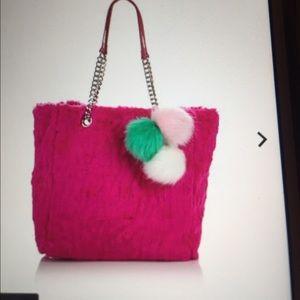 """Adrienne Landau Handbags - A by Adrienne Landau """"Trolls"""" Faux Fur 👛👛Tote"""