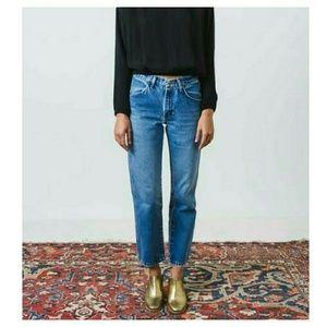 Oscar de la Renta Denim - Vintage High Waisted Oscar dela Renta Mom Jeans