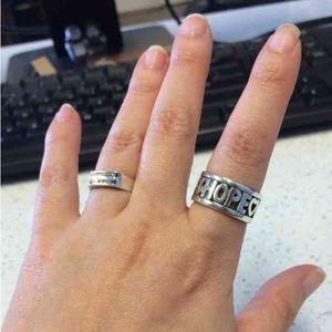 James Avery Jewelry - James Avery Love❤️Faith❤️Hope ring