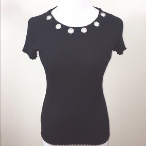 Belldini Tops - NWT Gorgeous Bellini Bling Top