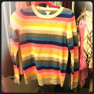 J. Crew Sweaters - 😍MOVING SALE: fun stripes!!! New with tags!