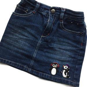 Gymboree Other - Gymboree Denim Penguin Skirt
