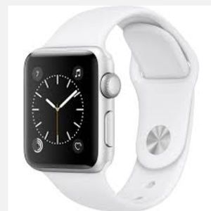 🆕 Apple Watch Series 2 42mm White Sport Band