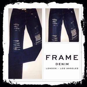 Frame Denim - NWOT Frame Denim ripped jeans