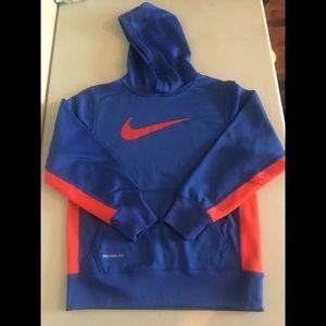 Nike Other - Boy's Nike Therma-Fit Hoodie - Blue & Orange