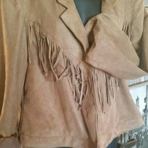 Nurture Jackets & Blazers - Faux Suede Blazer / Jacket