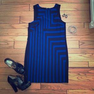 mossimo black Dresses & Skirts - Black/blue sleeveless dress sz XS Target