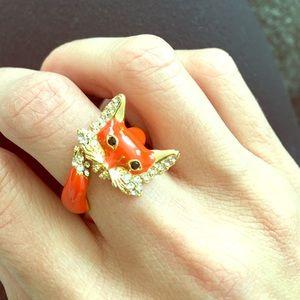 Kate Spade fox ring