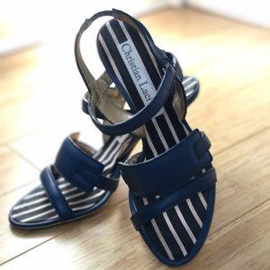 Christian Lacroix Shoes - Christian Lacroix Summer Heels 👠