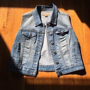 Earl Jeans Jackets & Blazers - Earl Jean denim blue vest