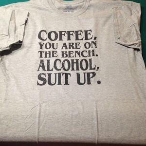 Fruit of the Loom Tops - ☕️🍺Brand new custom t-shirts