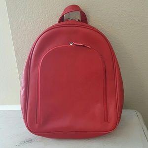 Romano by Castello  Handbags - Romano Castello Red Italian Nappa Leather backpack