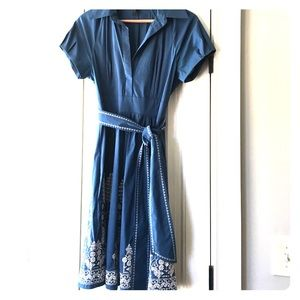 BCBGMaxAzria Dresses & Skirts - **REDUCED** Cute Patterned BCBG MAXAZRIA dress