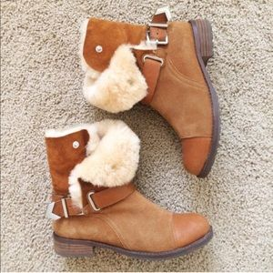 Matt Bernson Shoes - Matt Bernson shearling boots