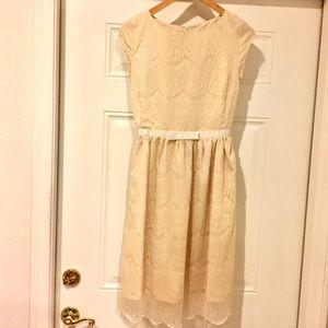 Cream lace Shabby Apple dress