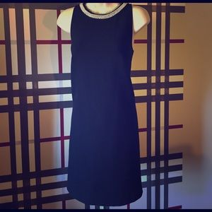 Ann Taylor LOFT black dress sz 8