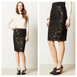 Philosophy Dresses & Skirts - Philosophy camo green pencil skirt
