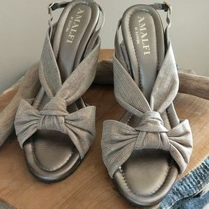 AMALFI Wedge sandals