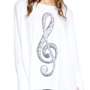 Lauren Moshi Tops - Lauren Moshi Mira oversized pullover NWT