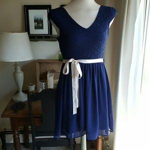 Mystic Dresses & Skirts - Lace and chiffon A-line dress
