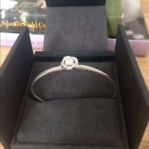 David Yurman Jewelry - David Yurman Petite Cable Sterling Silver Bracelet