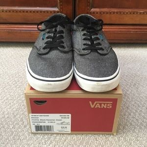 a5fe409acefb9a Vans Shoes - Vans Atwood in Textile Black Hawaiian Ocean