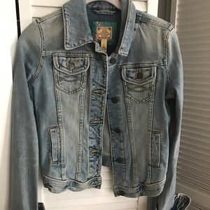 Abercrombie jean jacket