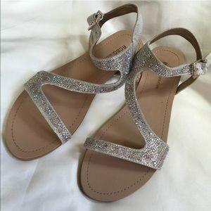 BCBGeneration Shoes - NWOB BCBG Sparkly Sandals size 8