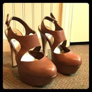 G by Guess Shoes - G by Guess brown high heels!