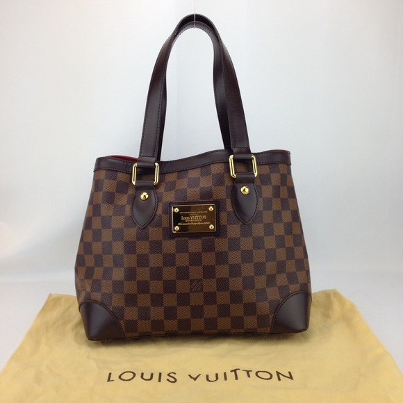 ab9b5bc52e1b Louis Vuitton Handbags - Louis Vuitton Damier Ebene Hampstead PM Tote Bag