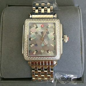 Michele  Accessories - NEW MICHELE MOSAIC MOP DIAL DIAMOND watch