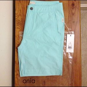 Onia Other - Onia Calder 7.5in Swimsuit in Light Blue