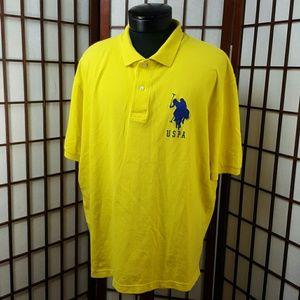 U.S. Polo Assn. Other - Yellow  U.S. POLO ASSN. Polo Shirt Size XL