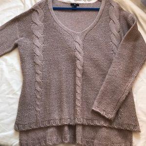 Beige/tan H&M soft sweater