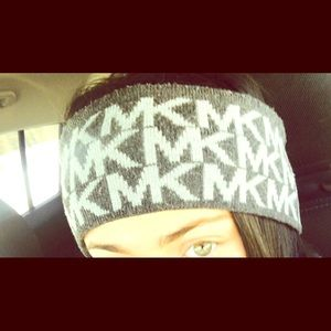 Michael Kors Accessories - ⭐️Authentic MK Grey Headband/Earband⭐️