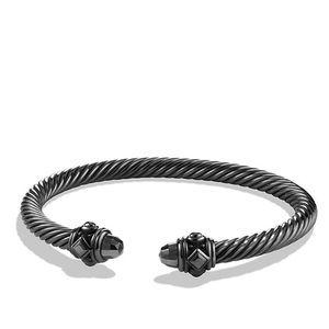 David Yurman Jewelry - David Yurman Gray 5mm Aluminum Bracelet.