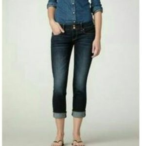 Madewell Rail Straight Crop Jean