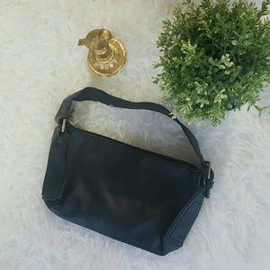 Mango Handbags - MANGO small black shoulder purse