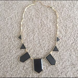 House of Harlow 1960 Jewelry - House of Harlow 1960 Black Resin Necklace