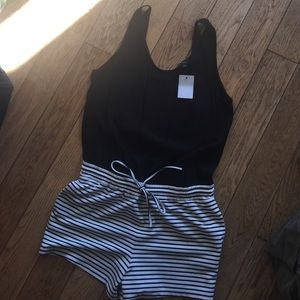 Other - NWT Romper with pockets
