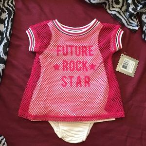 Amy Coe Other - SALE Future Rock Star Baby Dress/Tunic